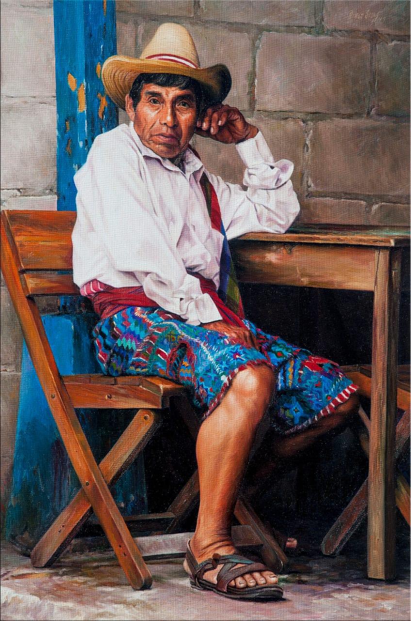 Hombre de San Antonio Palopó