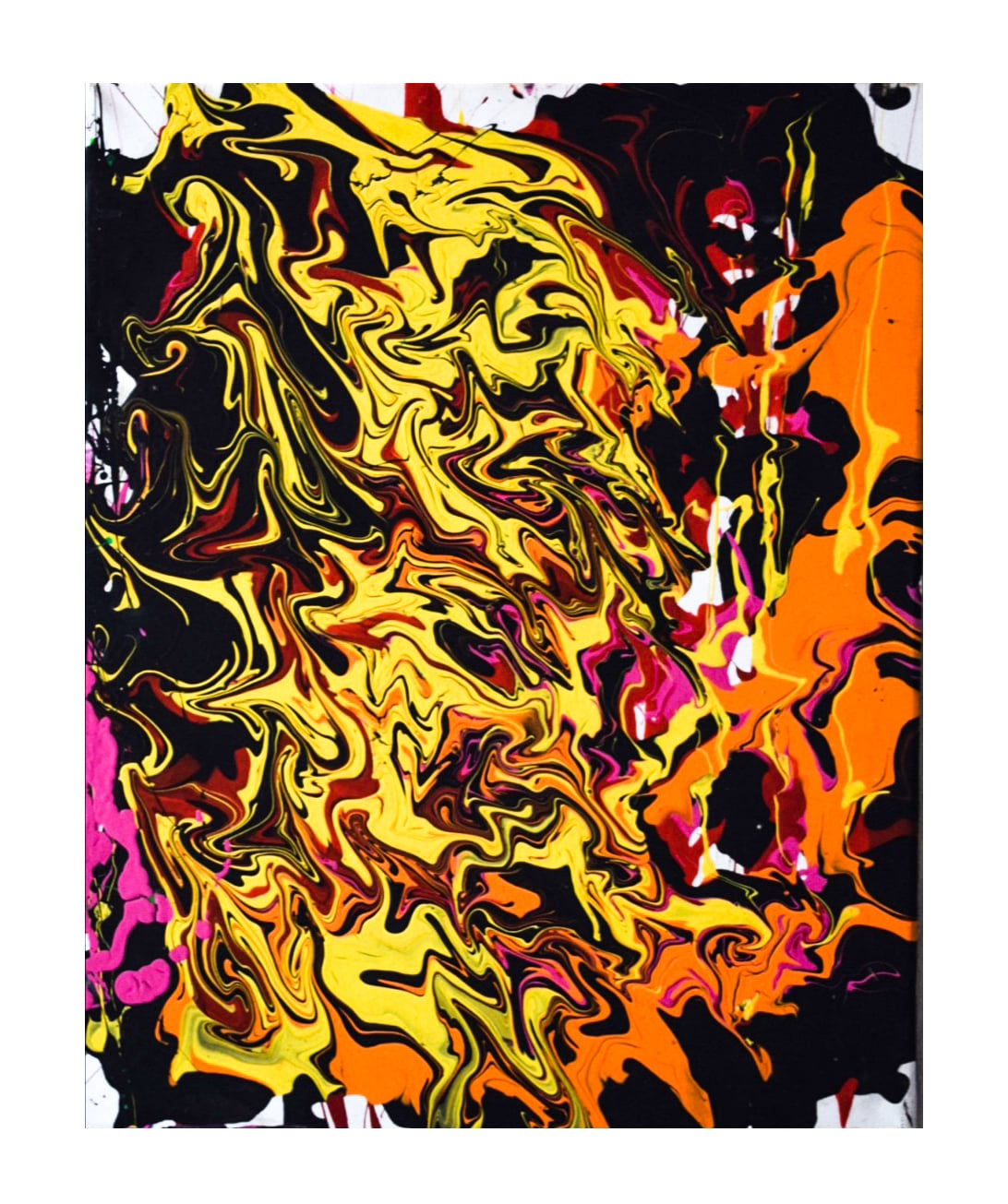 Acrylic Pouring #3